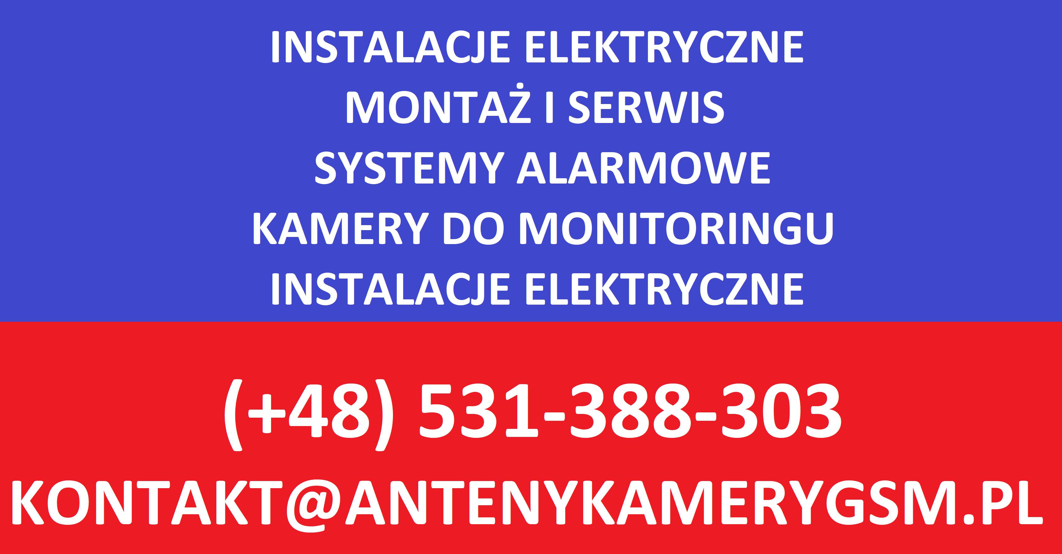 dane kontaktowe firmy wykonujacej uslugi elektryczne na terenie krakowa i malopolski